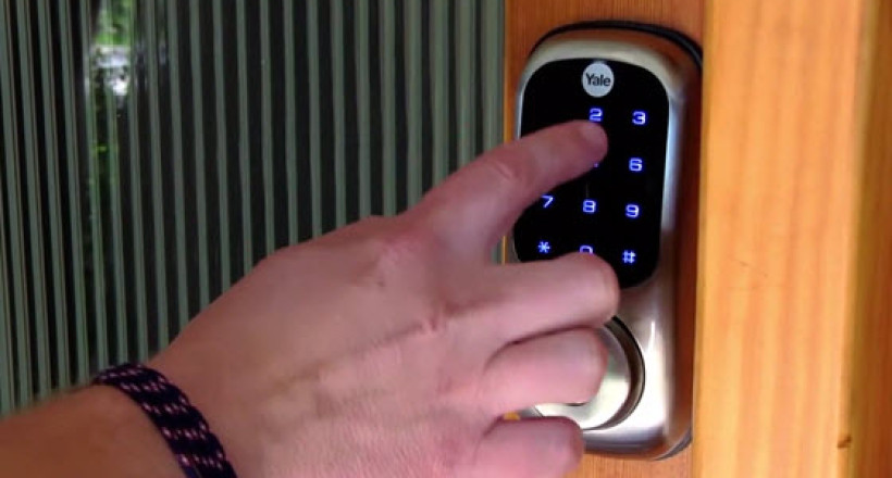 Wireless Home Security Locks With Yale Automation Locks