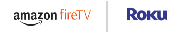 Sling TV Amazon Fire TV and Roku